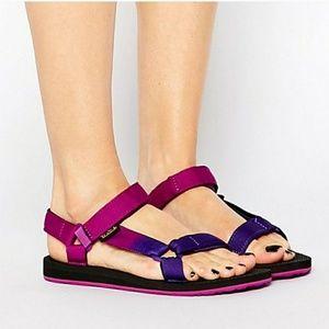 Teva Universal Gradient Hike Trail Sandal Purple 7
